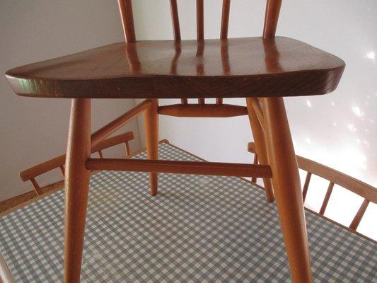 formica tisch mit 4 stühlen von lucian ercolani für ercol, 1960er, Esstisch ideennn