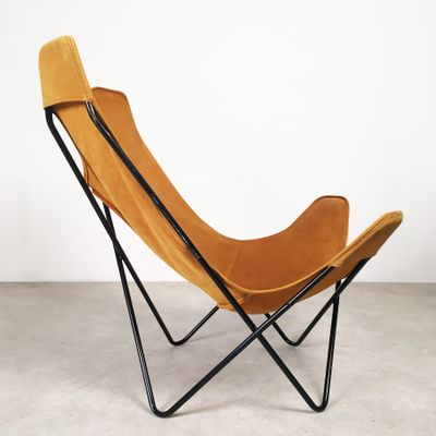 Butterfly Chair By Jorge Hardoy Ferrari For Knoll, 1950s 3