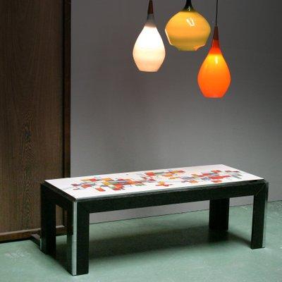 Ceramic Tile Top Coffee Table From Adri Belgique 1