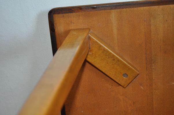Vintage Wooden Danish Side Table 7