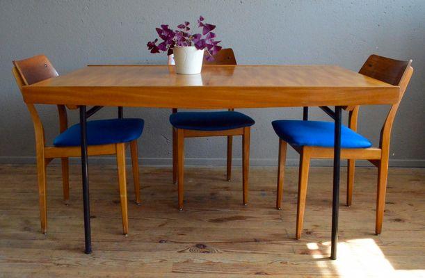 Tavolo di Pierre Guariche per Meuble TV, anni \'50 in vendita su Pamono