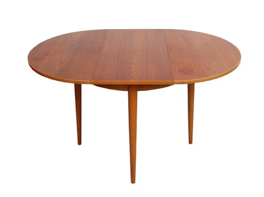 Small Vintage Dining Table From Lubke For Sale At Pamono