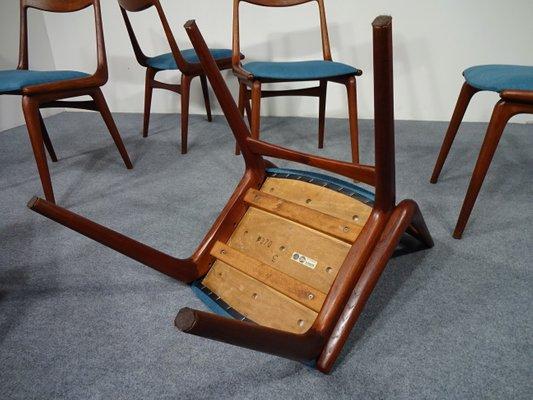 Vintage Boomerang Dining Chairs By Erik Christensen For Slagelse Møbelværk,  Set Of 6 21