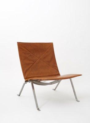 Vintage PK22 Chair By Poul Kjærholm For E. Kold Christensen 1