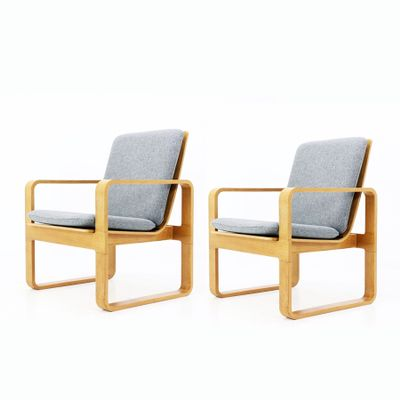 Vintage Armchairs From Magnus Olesen, Set Of 2 1
