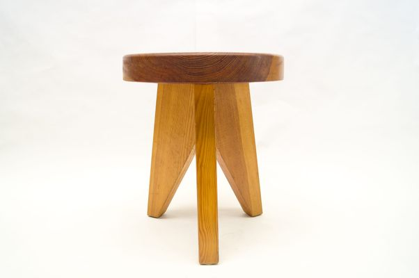 French Three-Legged Wooden Stool 1960s 1 & French Three-Legged Wooden Stool 1960s for sale at Pamono islam-shia.org