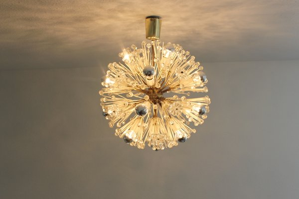 Dandelion Sputnik Lamp by Emil Stejnar for Rupert Nikoll, 1960s 12