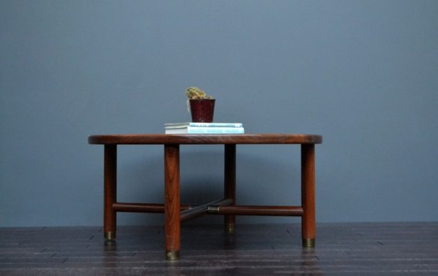 Vintage Teak And Glass Coffee Table 2