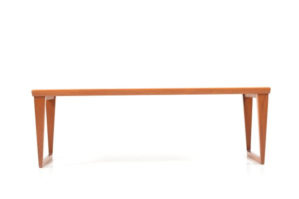 midcentury danish teak bench by kai kristiansen for aksel kjersgaard 2 - Teak Bench
