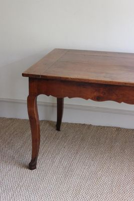 Captivating French Cherrywood Dining Table, 1800s 3