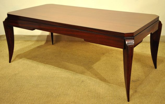 Art Deco Coffee Table By Maurice Jallot, 1930s 1