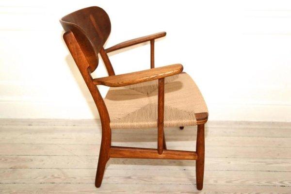 Perfect CH22 Shell Chair By Hans Wegner For Carl Hansen U0026 Søn, ...
