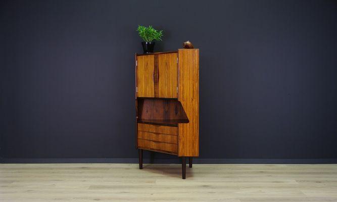 midcentury danish rosewood veneered corner cabinet from omann jun 3