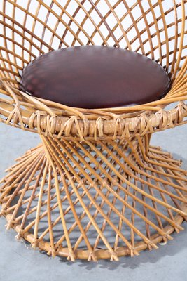 Vintage Rattan Chair From Rohé Noordwolde 2