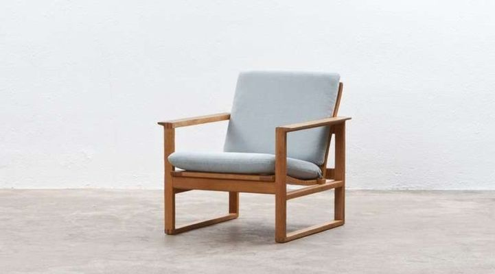 Lounge Chairs By Børge Mogensen For Fredericia, Set Of 2 3