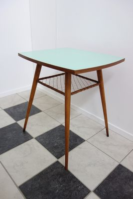 Great Lime Green Rotatable Table, 1960s 1