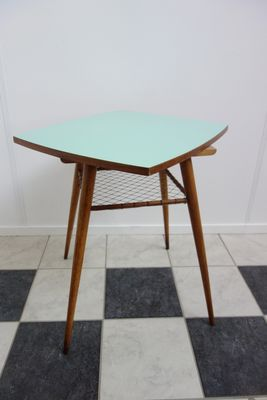 Nice Lime Green Rotatable Table, 1960s 10