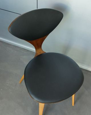 vintage plywood chair by norman cherner for plycraft 13