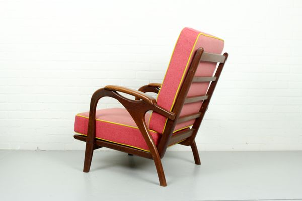 Pink Armchair, 1950s 4