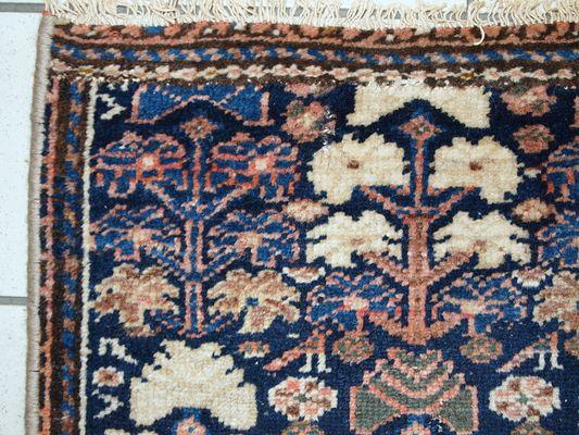 Handmade Persian Hamadan Rug, 1920s 2