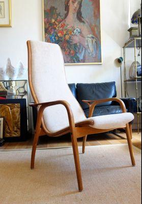 Vintage Lamino Easy Chair By Ingve Ekström For Swedese 1