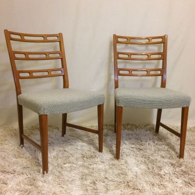 Vintage Swedish Chairs By David Rosén For Nordiska Kompaniet, Set Of 2 1
