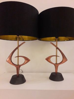Atomic table lamps 1960s set of 2 for sale at pamono atomic table lamps 1960s set of 2 3 audiocablefo light catalogue