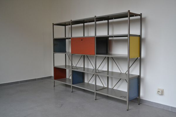 663 Modular Storage Cabinet By Wim Rietveld For Gispen 1954 1