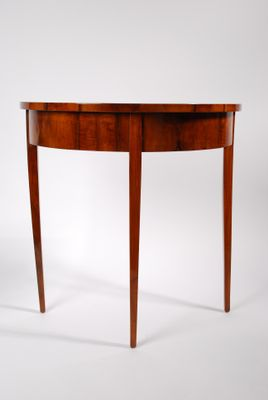 Vintage Small DemiLune Console Table for sale at Pamono