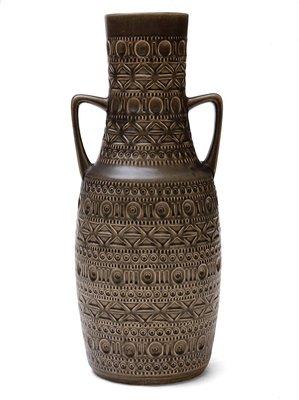 West German Ceramic Vase by Bodo Mans for Bay Keramik, 1960s 1