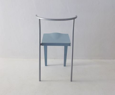 Vintage French Chairs By Philippe Starck For Kartell, 1980s, Set Of 8 4