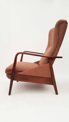 Lounge Chair with Footrest, 1960s 9