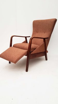 Lounge Chair with Footrest, 1960s 2