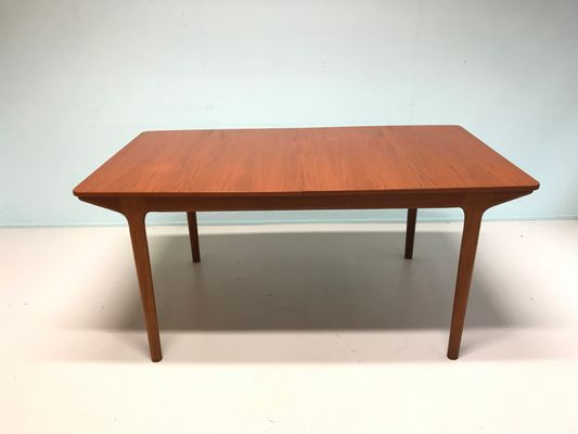 Mid-Century Modern Teak Dining Table by Tom Robertson for McIntosh ...
