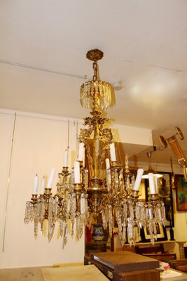 Antique spanish chandelier for sale at pamono antique spanish chandelier 1 mozeypictures Choice Image