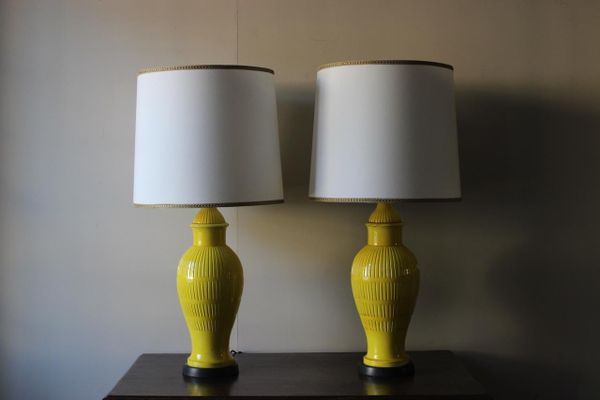 Italian pottery table lamps 1960s set of 2 for sale at pamono italian pottery table lamps 1960s set of 2 2 audiocablefo light catalogue