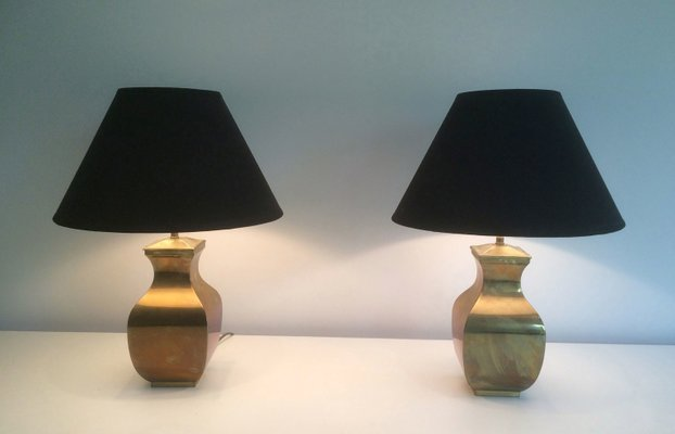 Post modern brass table lamps set of 2 for sale at pamono post modern brass table lamps set of 2 1 audiocablefo light catalogue