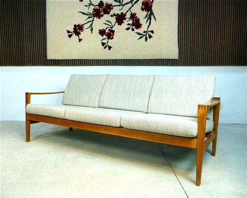 Midcentury 3-Seater Sofa from WK Wohnen for sale at Pamono