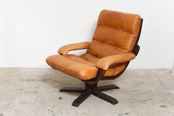 fauteuil pivotant cognac nordique en cuir 1 Résultat Supérieur 50 Élégant Fauteuil Pivotant Cuir Image 2017 Zat3