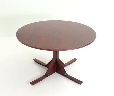 Tavolo da pranzo rotondo di Gianfranco Frattini per Bernini, anni ...