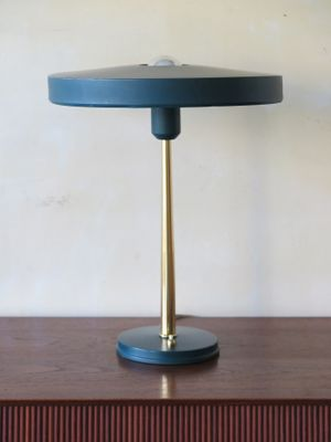 Ufo Table Lamp: UFO Table Lamp by Louis Kalff for Philips, 1957 1,Lighting