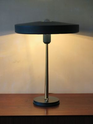Ufo Table Lamp: UFO Table Lamp by Louis Kalff for Philips, 1957 2,Lighting