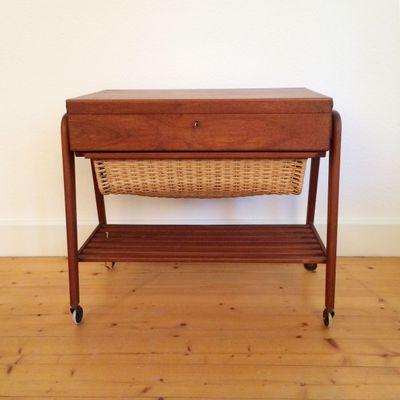 Scandinavian Wooden Sewing Box 1. Scandinavian Wooden Sewing Box for sale at Pamono