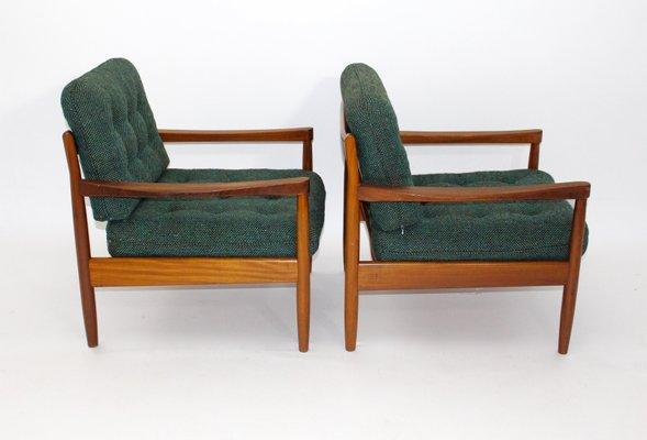 Dänische Lounge Sessel mit Couchtisch von Grete Jalk für France ...