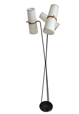 Three Light Floor Lamp From Lunel, 1950s 1