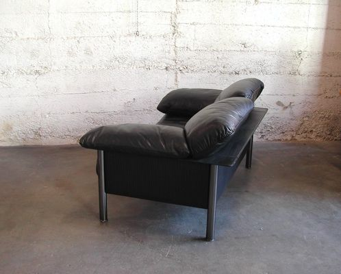 pausa sofa by pierluigi cerri for poltrona frau 1980s. Black Bedroom Furniture Sets. Home Design Ideas