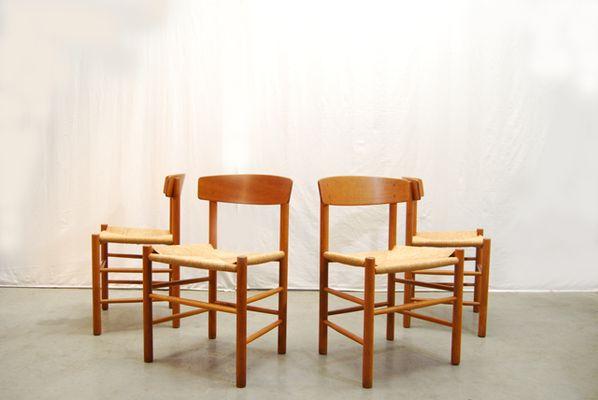 esszimmerst hle von b rge mogensen f r fdb m blefabrik. Black Bedroom Furniture Sets. Home Design Ideas
