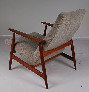 skandinavischer sessel 1950er. Black Bedroom Furniture Sets. Home Design Ideas