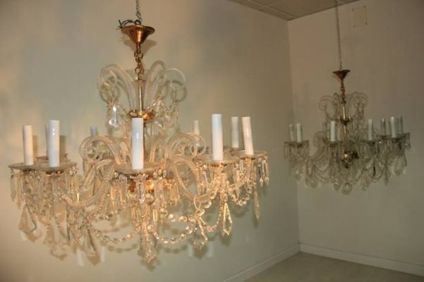 Italian Crystal Chandelier 1960s for sale at Pamono – Italian Crystal Chandelier
