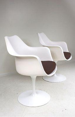 Saarinen Tulip Chair tulip chaireero saarinen for knoll for sale at pamono
